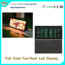 RGX Taxi Top P5 LED Digital display Full Color P5 3G GPS Worldwide Quality Taxi Top Advertising