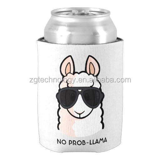 Customized Real Neoprene Beer Can Cooler Holder