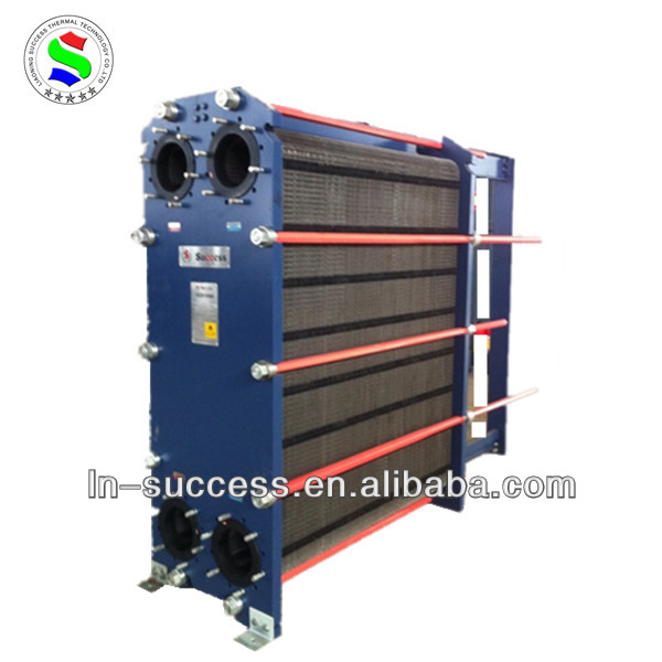 plate type heat exchanger water heating fireplace