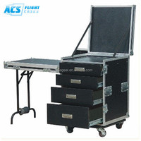 2014 hot selling Plywood Utility flight case /Durable Aluminum dj storage utility box