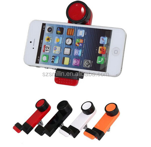 2018 New Design Universal Portable Car Air Vent Mount Holder for Mobile Phone 43-91mm Extendable for iPhone5s Samsung Note3 HTC