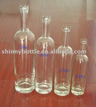 high quality red wine glass bottles of various capacity