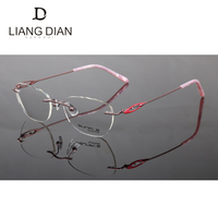2017 Latest Naturally Lady Optical Rimless