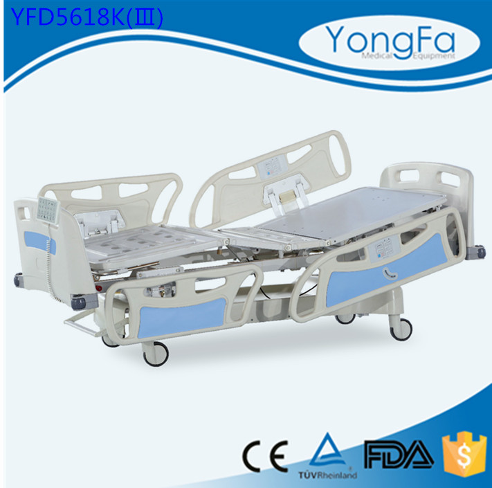 Plastic parts center Linak motor 3 functions electric hospital bed