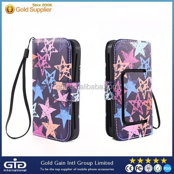 [GGIT] Generation Universal PU Leather Flip Cover for 3.8-6.0 size