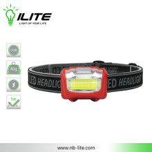 3W COB LED Headlamp for Outdoor Activities
