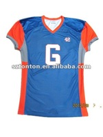 100% polyester authentic cheap football jerseys