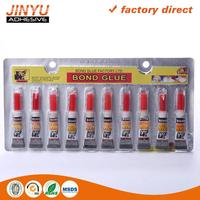 Factory price cyanoacrylate 12pcs super glue