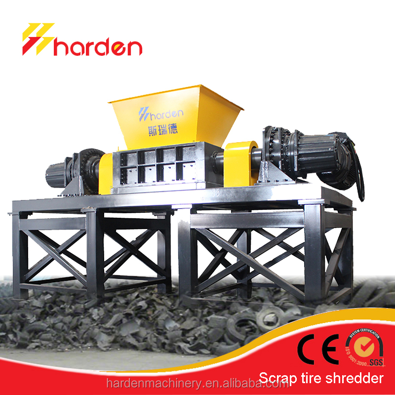 High efficiency Scrap Tire Shredder