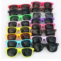 Cheap Custom Logo Printed Party Promotion Gift Sunglasses for kids and adult