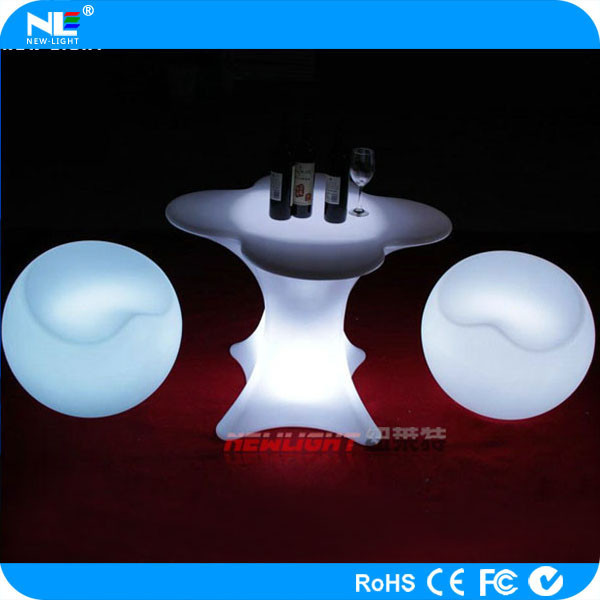 led illuminated furniture/led bar table/led bar cocktail table for sale