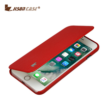 Jisoncase mobile phone shell for iphone 7 cover leather hard case for iphone7