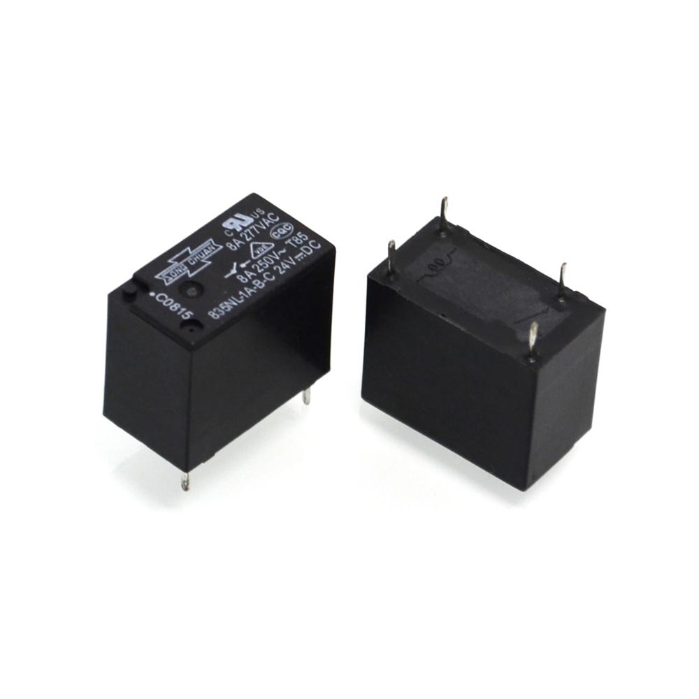1A power relay NL - 835 - B - <strong>C</strong> - 24VDC4 feet 8A commutability LMH OJE - SS - <strong>124</strong>