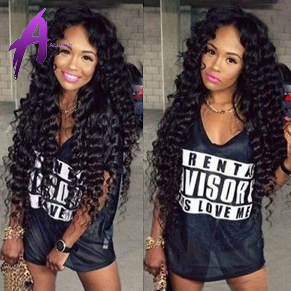 7A Virgin Indian Curly Hair,Indian Real Hair Deep Wave 100 Percent Indian Remy Human Hair Extension
