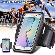 Waterproof Sport Running Arm Band Case For Samsung Galay S3/S4/ S5/S6/S6 Edge S7 Mobile Phone Arm Holder Belt Leather Cover