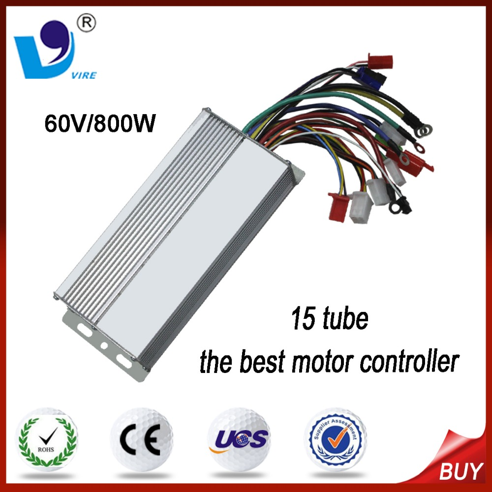 60V 800W the best DC motor controller for 3 wheel electric bicycle bike controller15 tube
