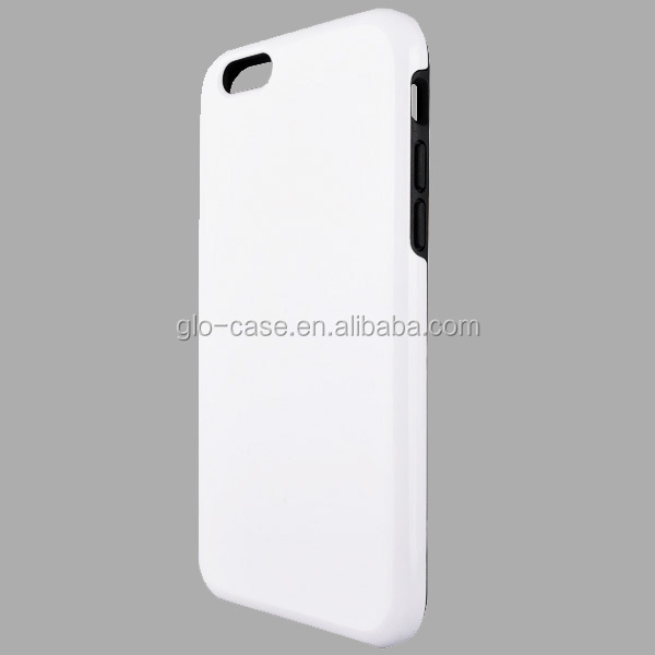 3D Sublimation Tough Case with TPU Liner for iPhone 6