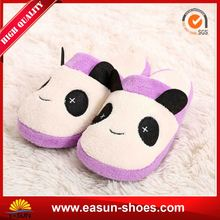 Kid Animal Slippers Sheepskin Leather Baby Slipper Girls Kids Glitter Shoes