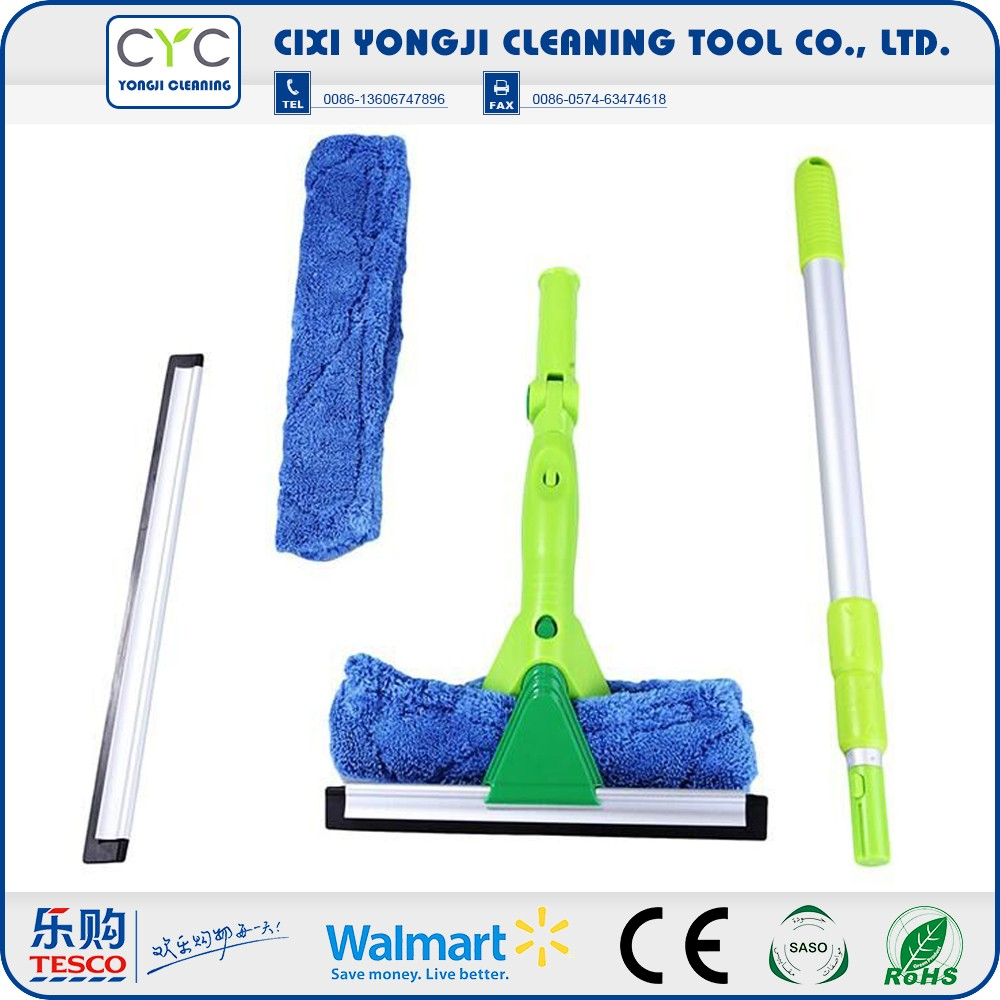 High efficiency and Flexible microfiber spray window squeegee