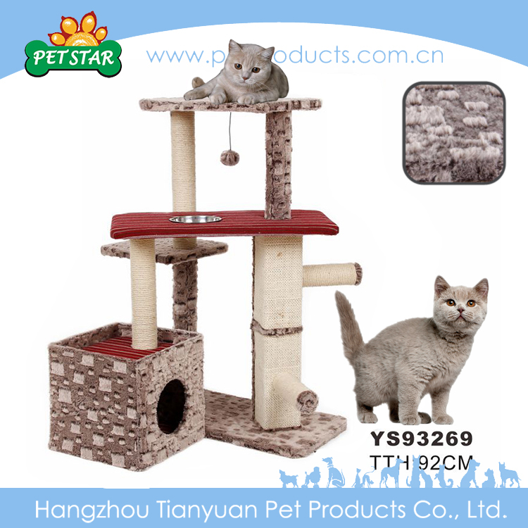 Factory Price Wholesale Pet Products Hot Wholesale Cat Tree Scratching Post