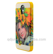 new style blank sublimation 3D phone cover for Samsung GALAXY S4