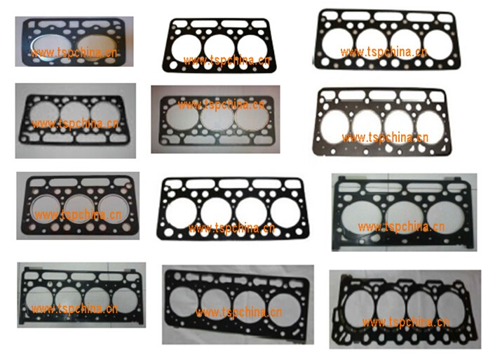 KUBOTA tractor Cylinder head gasket kit copper