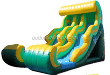 Top quality jungle pvc inflatable water slide sale