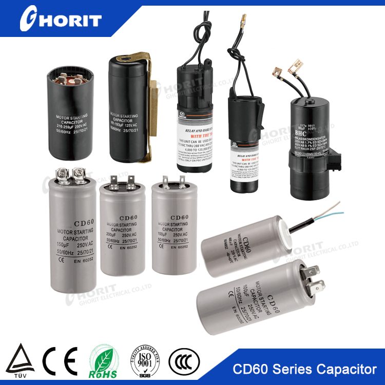 cd60 ac fan motor start capacitor 1.5uf