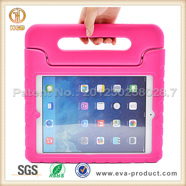 China manufature wholesale eva foam material kids case for ipad mini with handle stand