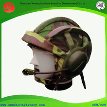 military army camo advance tank helmet with Voice comunications terminal in the armored vehicles & tanks