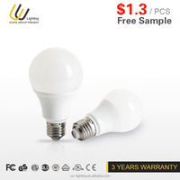 China new products blacklight led bulb for ceiling fan are dimmable