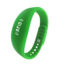Low price NFC passive kids rfid silicone wristband