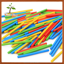 100 Pieces 5 Colors Bamboo Digital Children'S Computing Game Stick Early Childhood Toys Educational Kid Puzzle Game Toy