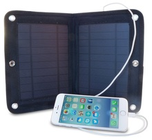 The cheapest price 6w 2500mah solar panel charger sticker charging mobile phone and tablet pc