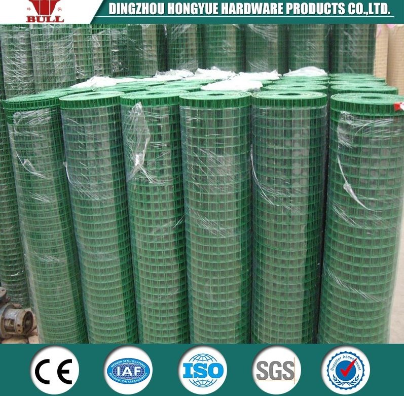 nylon coated wire mesh fence