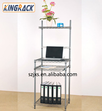 Computer desk wirk shelving home computer wire racking multifunction wire metal shelving