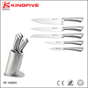 Stainless steel 6 pcs kitchen knife set