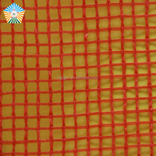 50x80 Breathable vented red plastic mesh bags for firewood packaging
