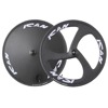 Ican New Design 700C Carbon Disc Wheelset 3 Spoke Clincher Wheels