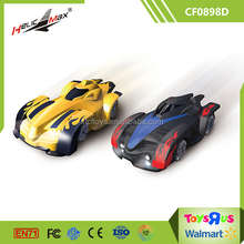 Gift Toys New Design Mini Climber Cars Infrared RC Wall Climbing Car for Kids