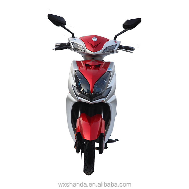 Geared Motor Powerful Electric Motorcycle For Sale
