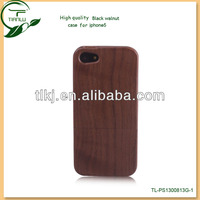 Wooden Case For iphone 5/5s ,Wholesale Wood Mobile Phone Case For iphone 4 with retail packaging