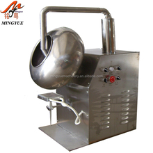 Food industrial spot uv coating machine/chocolate/sugar coating machine from china supplier
