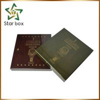 Hot sale trade assurance lightweight wood box gift box wooden essential boxes with dividers