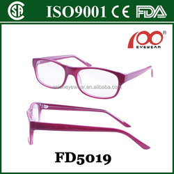 CP injection optical frame with round needle
