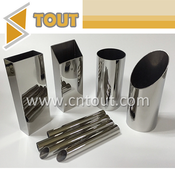 316 Stainless Steel Hollow Round / Rectangular Pipe