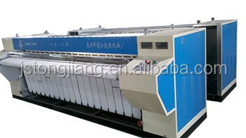 twin rollers Commercial Sheet Ironing Machine/ laundry shop equipment