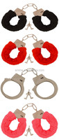 Adult very nice sex toy fluffy plush handcuff sex toy wholesale HK2110