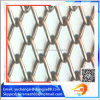 cascade coil drapery/metal chain mesh screen