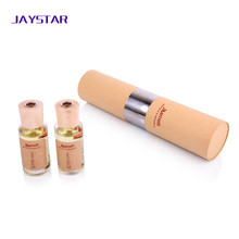 cosmetic packaging colorful paper tube box essential oil packaging cylinder custom paper box